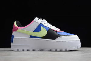 New Nike Air Force 1 Shadow White Sapphire Barely Volt CJ1641-100-4