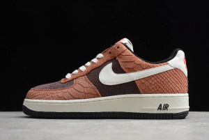 Nike Air Force 1 Low PRM Red Bark With Snakeskin CV5567-200