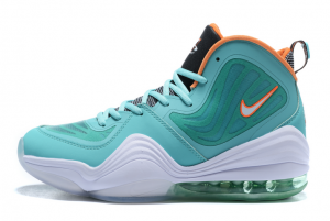 Mens Nike Air Penny 5 Miami Dolphins Green White For Sale