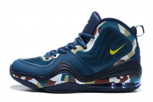 New Nike Air Penny 5 Camo Navy Blue For Sale