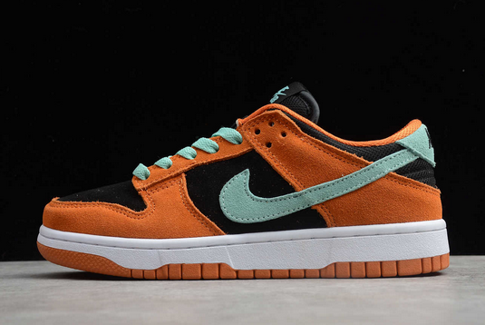 Buy Nike SB Dunk Low Orange Black Blue Shoes BQ6817-007