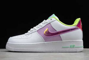 2020 New Nike Air Force 1 Low Easter White Multi Pastel CW5592-100