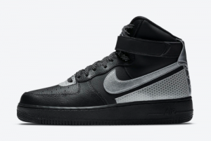 3M x Nike Air Force 1 High Black Leather For Sale CU4159-001