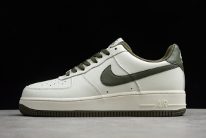 Nike Air Force 1 '07 Low White/Army Green-Black For Sale AQ3778-996