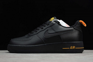 Nike Air Force 1 Low Cut-Out Black For Sale DC1429-002