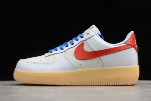 Nike Air Force 1 Low White Red-Gum On Sale CT7875-994