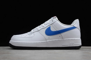 Nike Air Force 1 Low White Royal Blue For Sale BQ2241-844