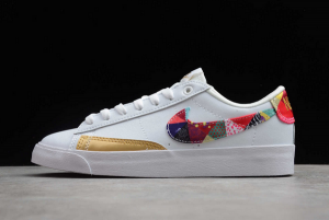 Nike Blazer Low LE Chinese New Year White Multi-Color Sneakers BV6655-116