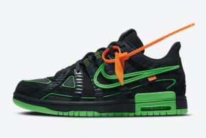 Off-White x Nike Air Rubber Dunk Green Strike To Buy CU6015-001