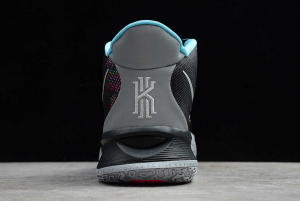 2020 Mens Nike Kyrie 7 EP Black Silver Pink Blue Basketball Shoes CT4080-008-2