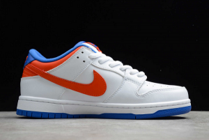 2020 New Nike SB Dunk Low Pro White/Royal Blue-Red 304292-103 In Stock-1
