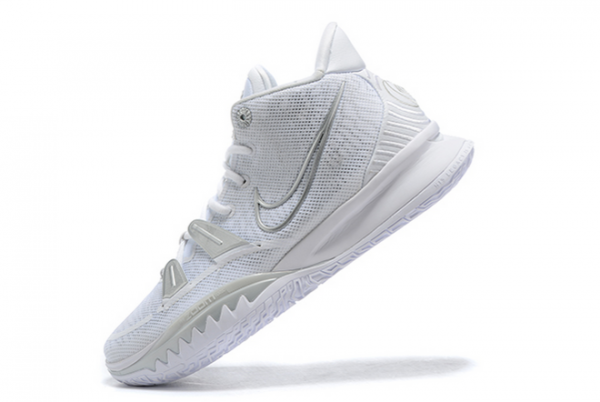 Buy Mens Nike Kyrie 7 Pure Platinum White Silver Sneakers