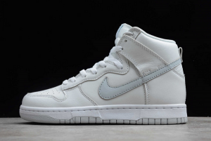 Discount Nike Dunks High Pure Platinum White And Grey CZ8149-101