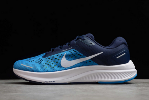 Mens Nike Air Zoom Structure 23 Laser Blue White CZ6720-401