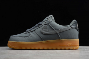 Lifestyle Shoes Nike Air Force 1 Low Flat Pewter/Gum Med Brown AQ0117-001