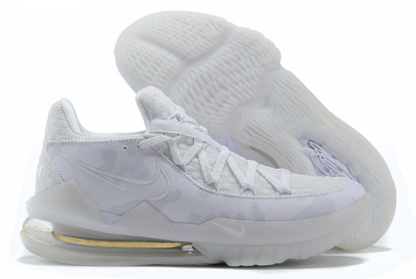New Nike LeBron 17 Low White Camo Outlet Sale CD5007-103-1