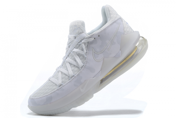 New Nike LeBron 17 Low White Camo Outlet Sale CD5007-103