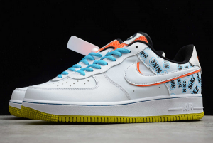 Nike Air Force 1 Low Back To School White/Hyper Crimson-Bright Cactus CZ8139-100-4