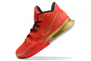 Nike Kyrie 7 University Red/Black-Metallic Gold Outlet Online