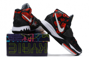 Sneaker Room x Nike Kyrie 6 Mom Black Basketball Shoes For Online Sale-2