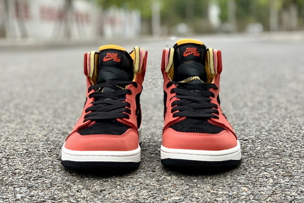 2020 New Air Jordan 1 Zoom Comfort Chile Red Shoes CT0978-006-1