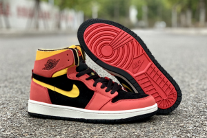 2020 New Air Jordan 1 Zoom Comfort Chile Red Shoes CT0978-006-4