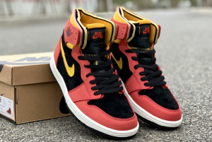 2020 New Air Jordan 1 Zoom Comfort Chile Red Shoes CT0978-006-2