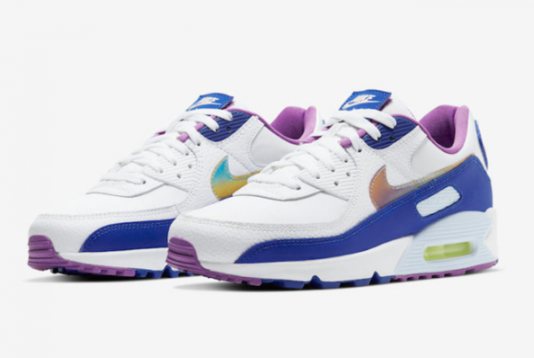 2020 New Nike Air Max 90 Easter Shoes CT3623-100-3