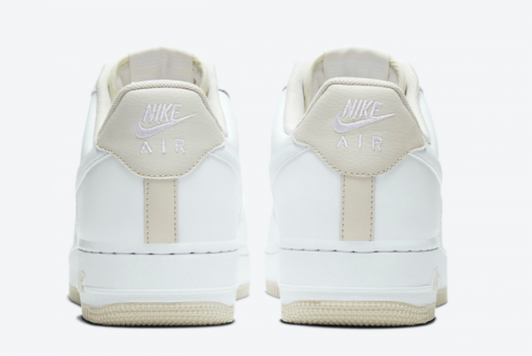 2020 Nike Air Force 1 Low Light Bone Casual Shoes For Sale CJ1380-101-2