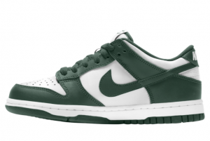 2021 New Release Nike Dunk Low White/Green CW1590-102