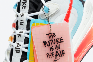Best Sell Nike Air Max 270 React The Future is in the Air Sneaker DD8498-161-3