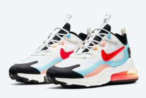 Best Sell Nike Air Max 270 React The Future is in the Air Sneaker DD8498-161-1