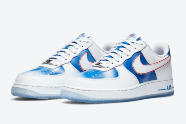 Cheap Nike Air Force 1 Low Pacific Blue DC1404-100-1