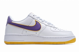 Discount Nike Air Force 1 '07 Low White Purple Gold HK7765-024-1