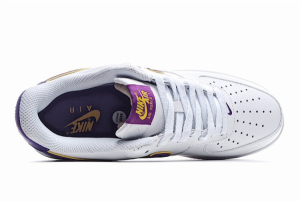 Discount Nike Air Force 1 '07 Low White Purple Gold HK7765-024-3