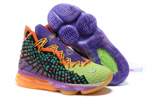 Latest Nike LeBron 17 What The Multi-Color On Sale CV8080-900-1