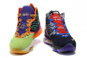 Latest Nike LeBron 17 What The Multi-Color On Sale CV8080-900-5