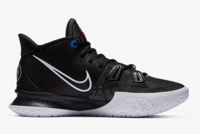 Mens Nike Kyrie 7 EP Black/Off Noir/Chile Red/White CQ9327-002-2