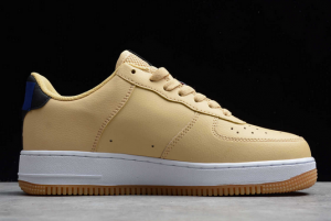 New Fashion Nike Air Force 1 Low NBA Pack Sesame University Gold CT2298-200-1