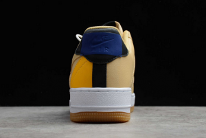 New Fashion Nike Air Force 1 Low NBA Pack Sesame University Gold CT2298-200-2