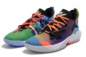 New Jordan Why Not Zer0.4 Multi-Color Basketball Shoes On Sale-2