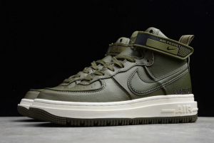 New Nike Air Force 1 Gore-Tex Boot Medium Olive Shoes Online Sale CT2815-201-4