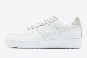 Nike Air Force 1 Craft White Vast Grey Casual Shoe For Sale CN2873-101
