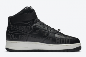 Nike Air Force 1 High '07 Premium Toll Free Casual Shoe For Sale CU1414-001-1