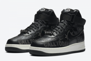 Nike Air Force 1 High '07 Premium Toll Free Casual Shoe For Sale CU1414-001-5