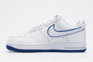 Nike Air Force 1 Low 07 White Blue Hot Selling CJ1366-003-4