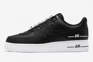 Nike Air Force 1 Low Double Air Low Black White Shoes Best Sell CJ1379-001