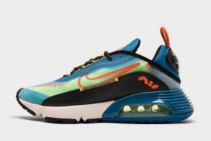 Nike Air Max 2090 Green Abyss Sport Shoes For Sale CZ7867-300