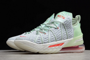 Nike LeBron 18 EP Empire Jade Shoes For Sale DB7644-002-4