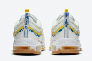 Undefeated x Nike Air Max 97 Sail/White-Aero Blue-Midwest Gold DC4830-100-3